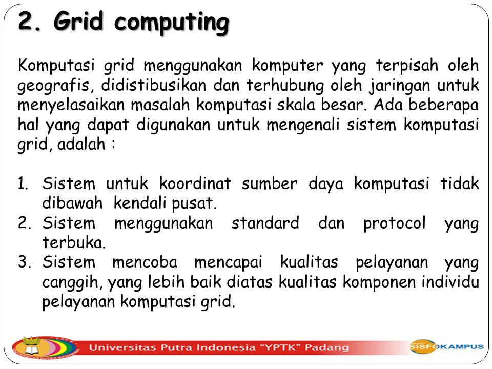 2. Grid computing