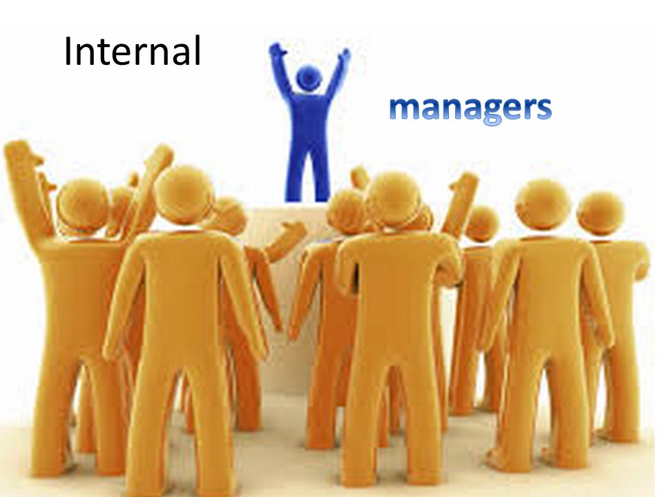 Internal managers