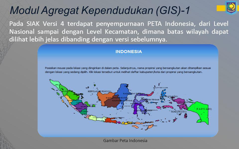 Modul Agregat Kependudukan (GIS)-1