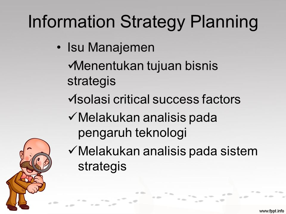 Information Strategy Planning