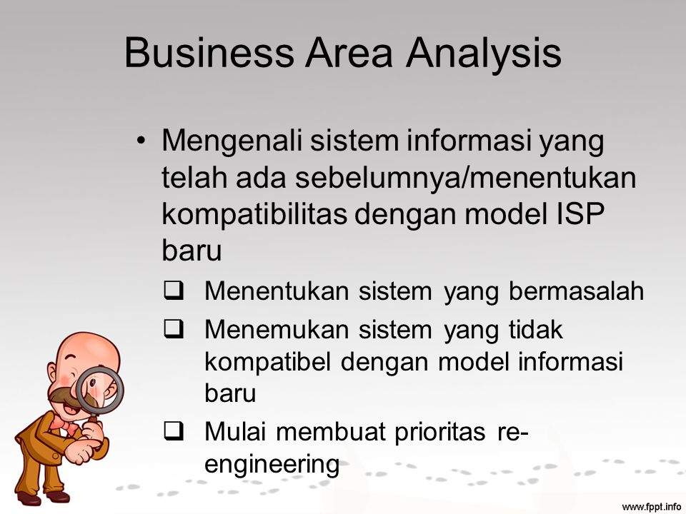 Business Area Analysis