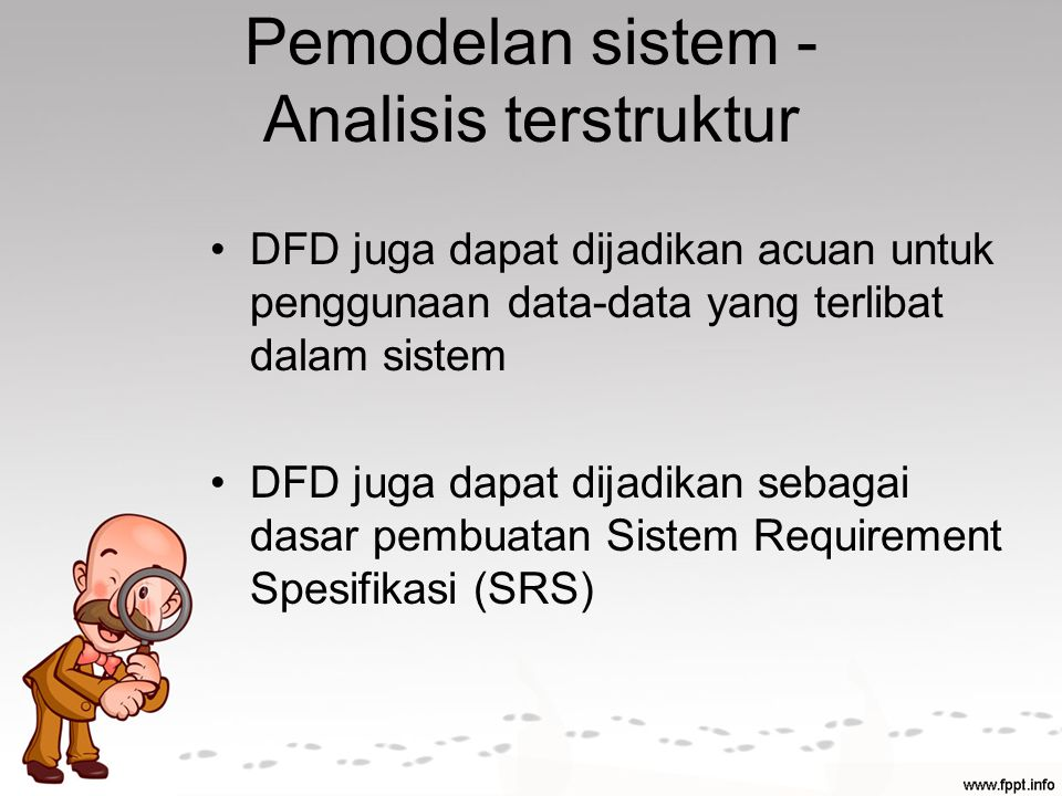 Pemodelan sistem - Analisis terstruktur