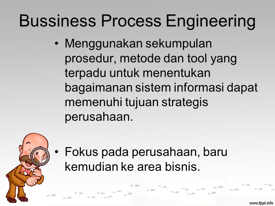 Bussiness Process Engineering