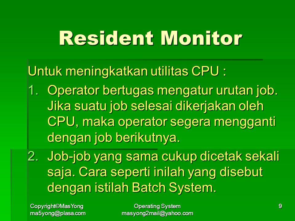 Operating System masyong2mail@yahoo.com