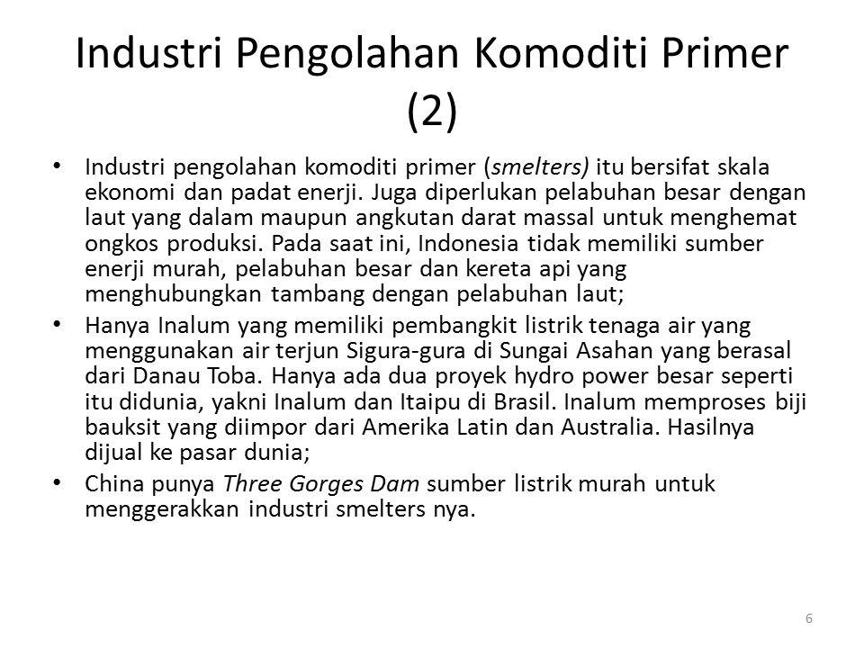 Industri Pengolahan Komoditi Primer (2)
