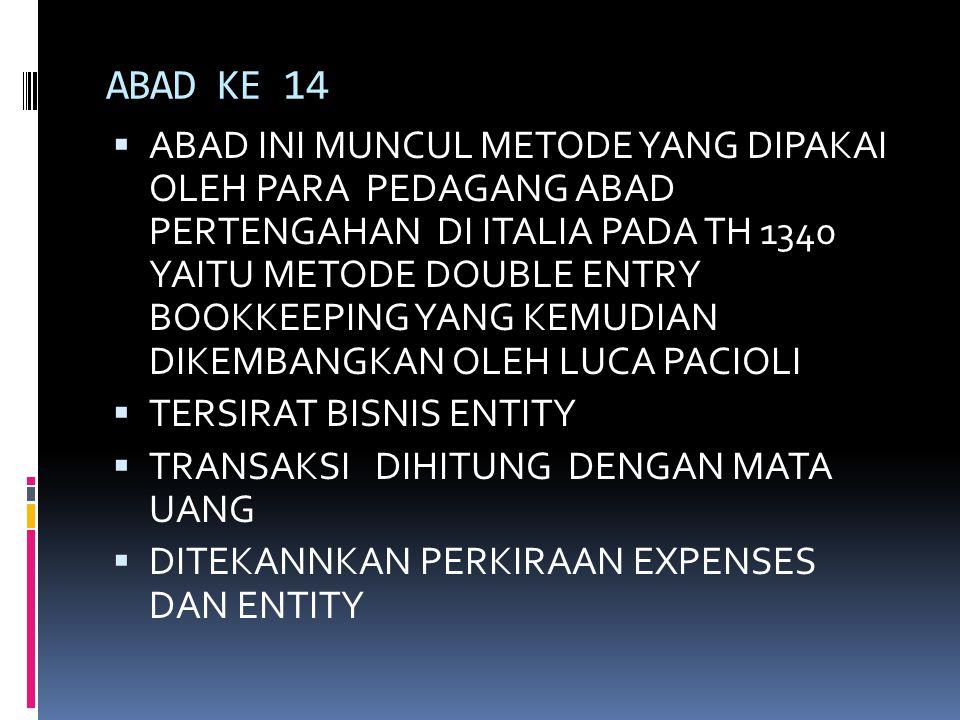 ABAD KE 14