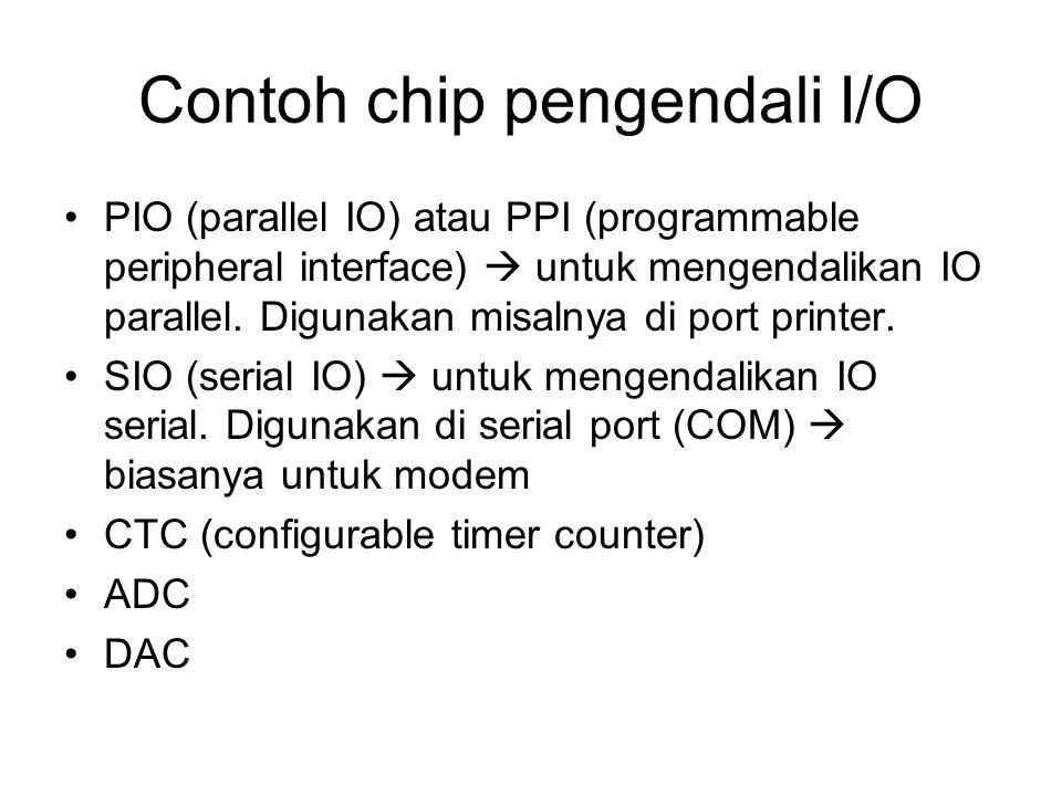 Contoh chip pengendali I/O