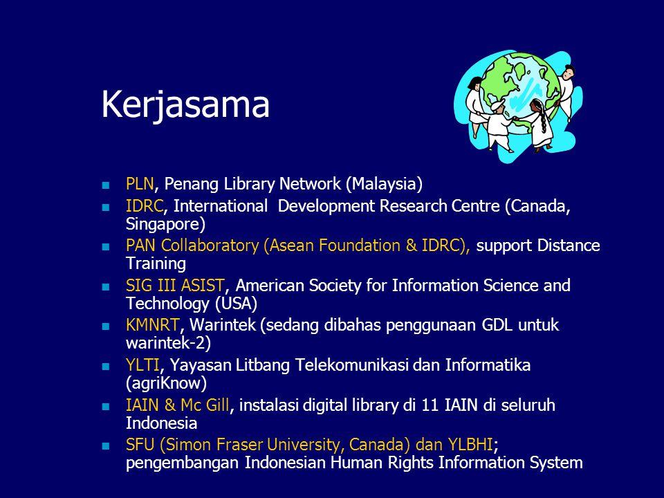 Kerjasama PLN, Penang Library Network (Malaysia)