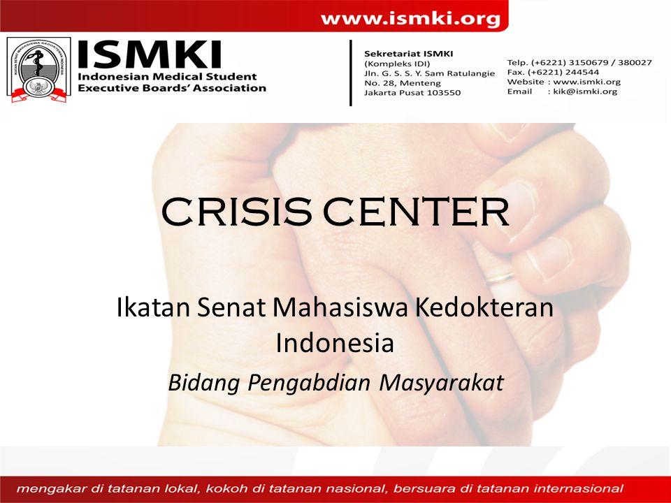 CRISIS CENTER Ikatan Senat Mahasiswa Kedokteran Indonesia