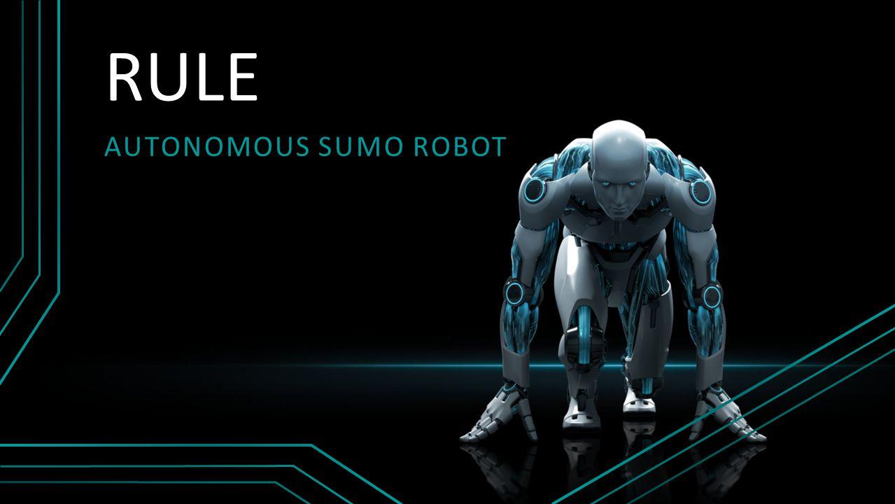RULE AUTONOMOUS SUMO ROBOT