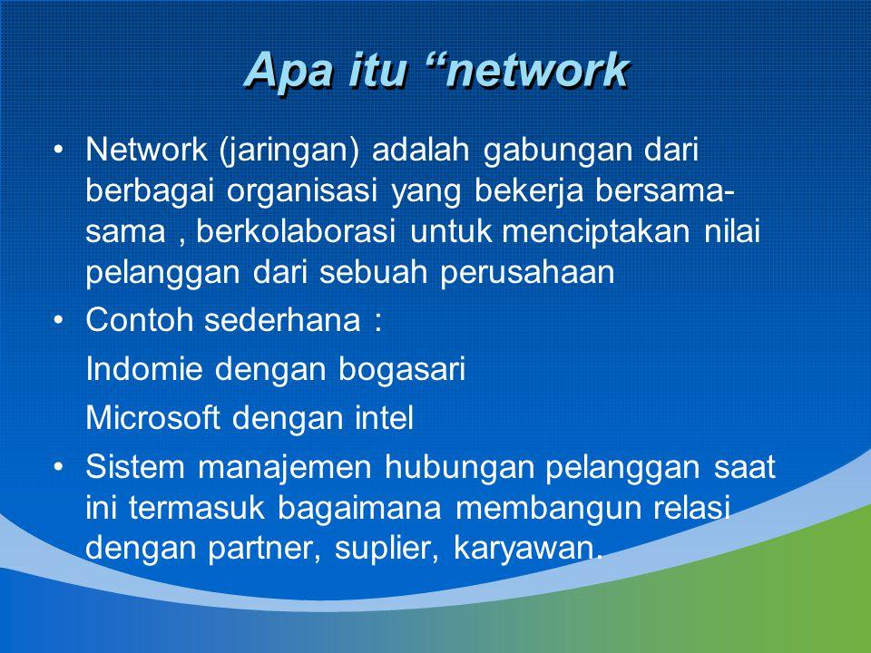Apa itu network