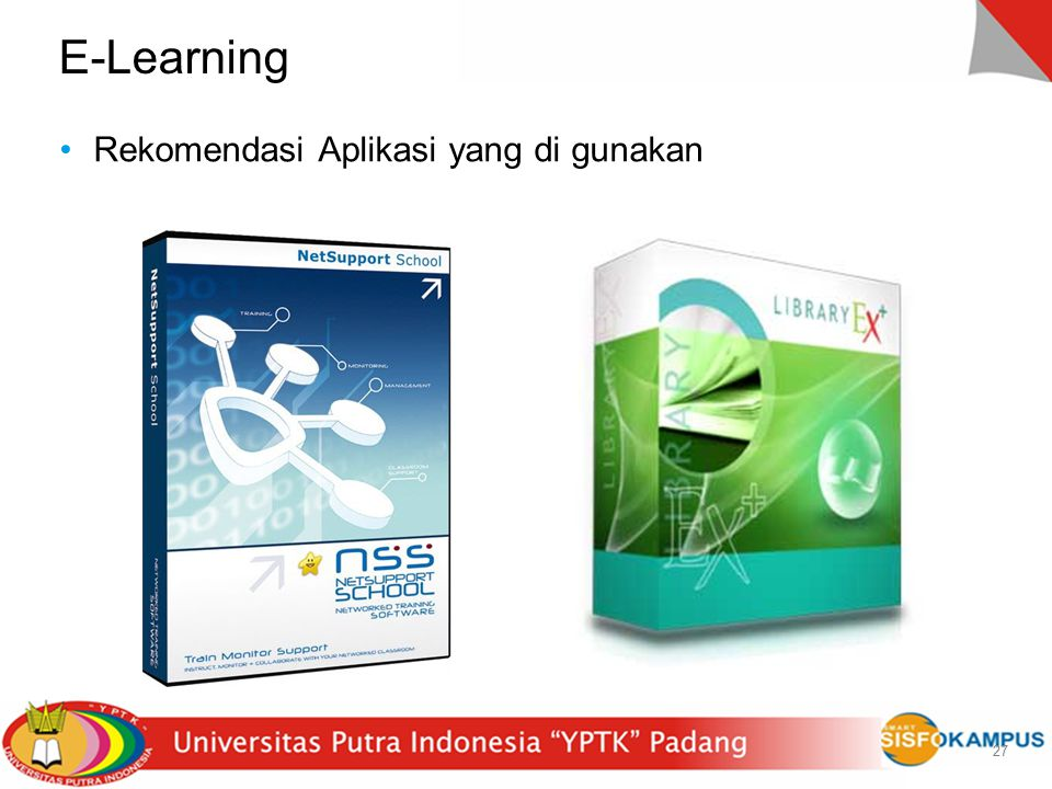 E-Learning Rekomendasi Aplikasi yang di gunakan