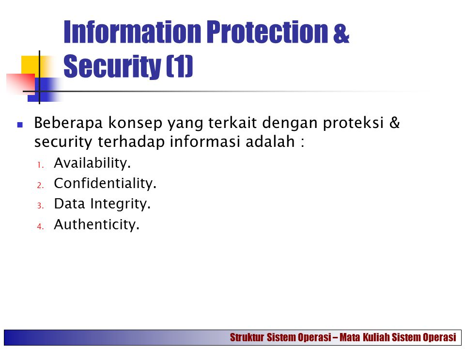 Information Protection & Security (1)