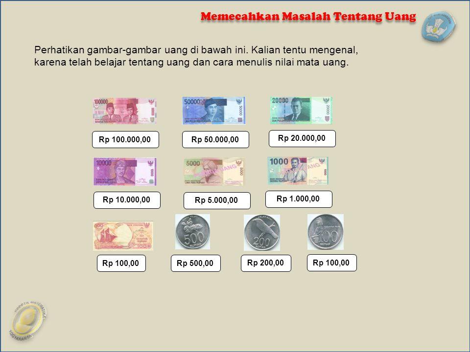 Memecahkan Masalah Tentang Uang