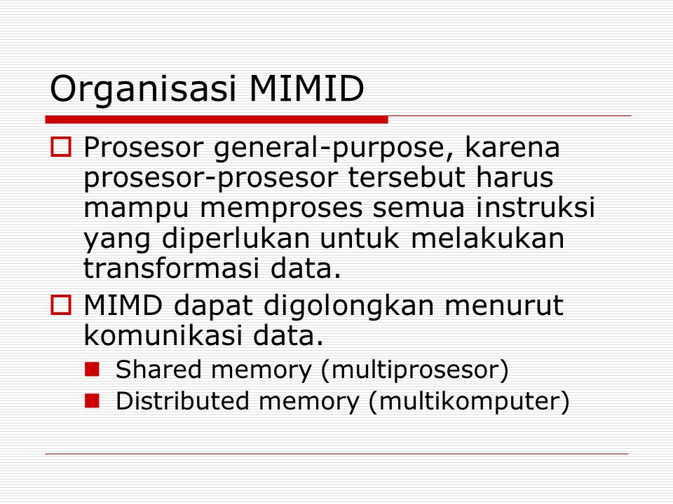 Organisasi MIMID