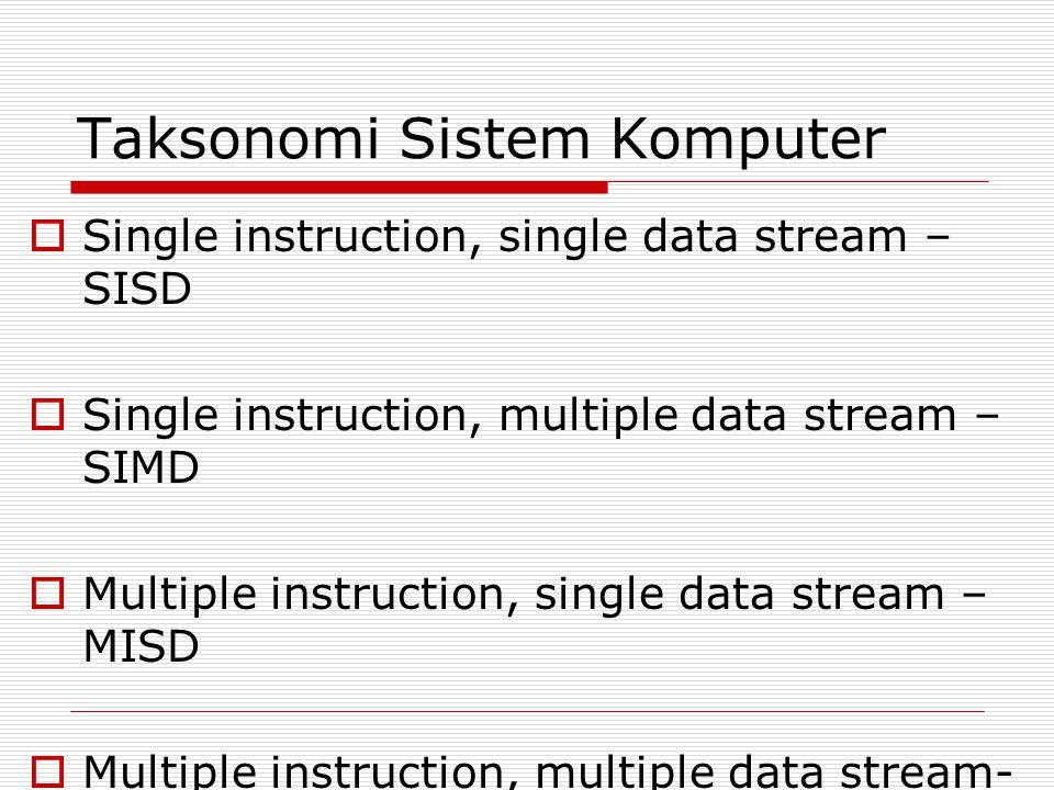 Taksonomi Sistem Komputer