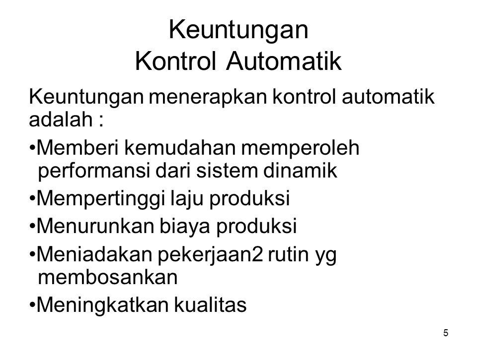 Keuntungan Kontrol Automatik