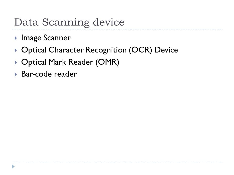 Data Scanning device Image Scanner