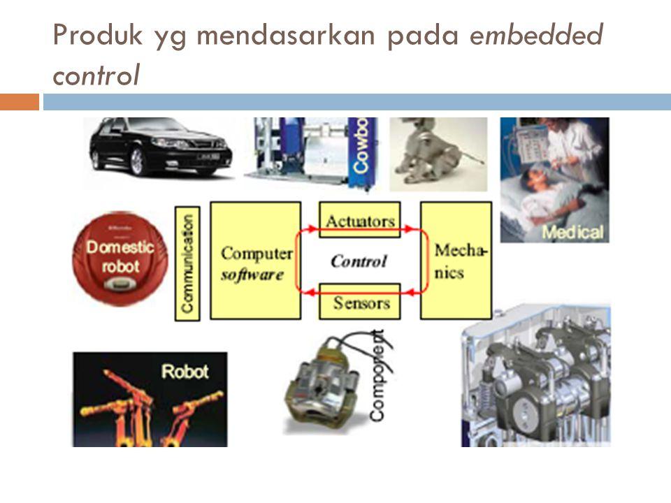 Produk yg mendasarkan pada embedded control