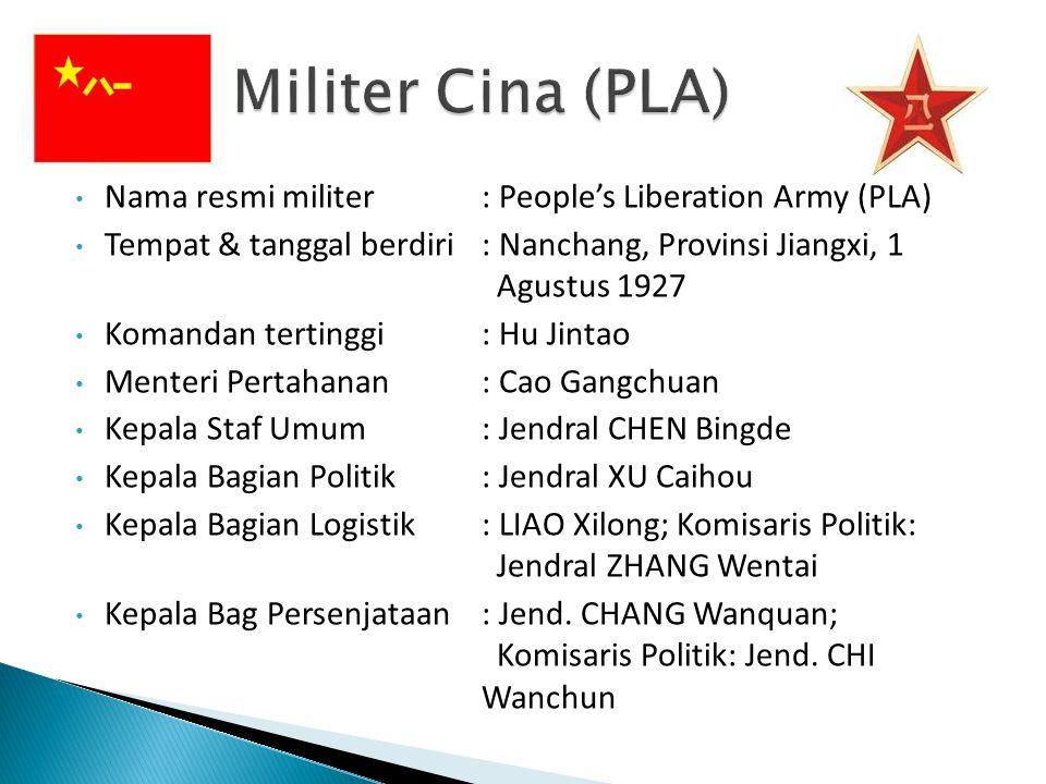 Profil Militer Cina (PLA)