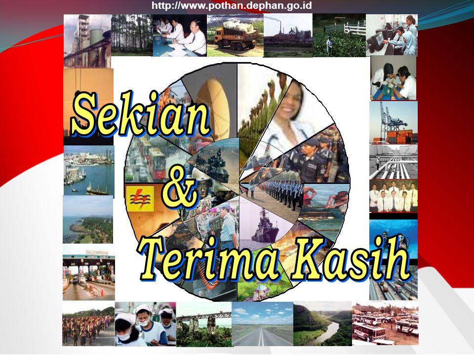 http://www.pothan.dephan.go.id Sekian & Terima Kasih 21