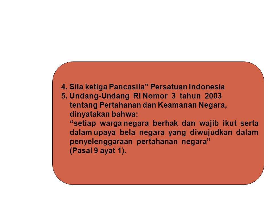 4. Sila ketiga Pancasila Persatuan Indonesia
