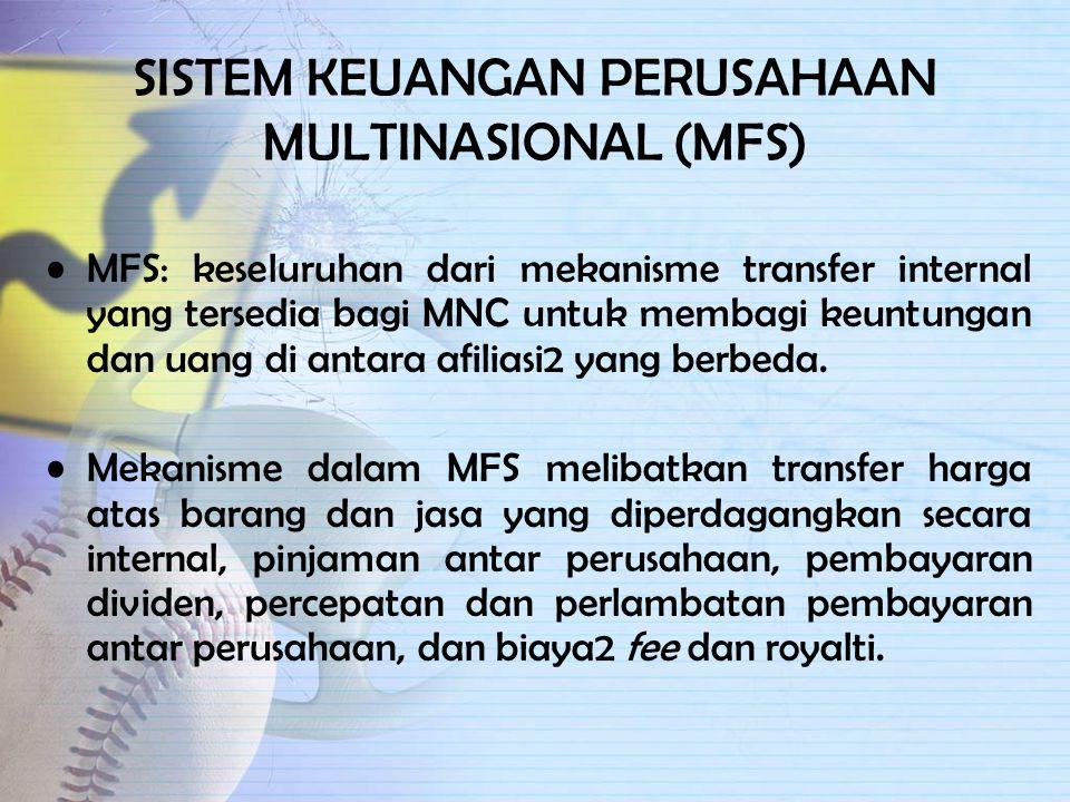 SISTEM KEUANGAN PERUSAHAAN MULTINASIONAL (MFS)