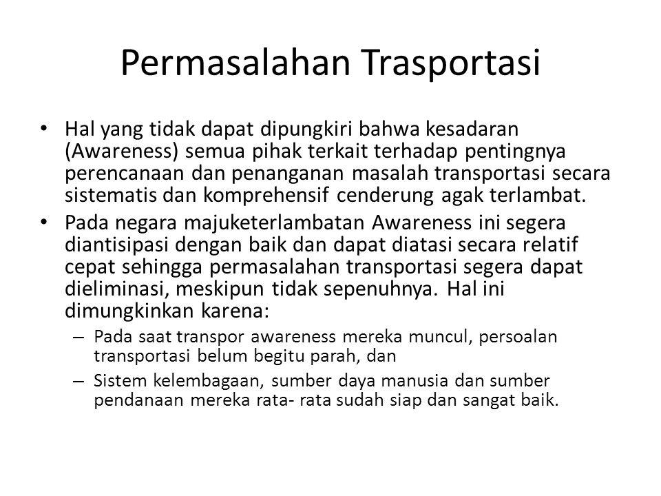 Permasalahan Trasportasi