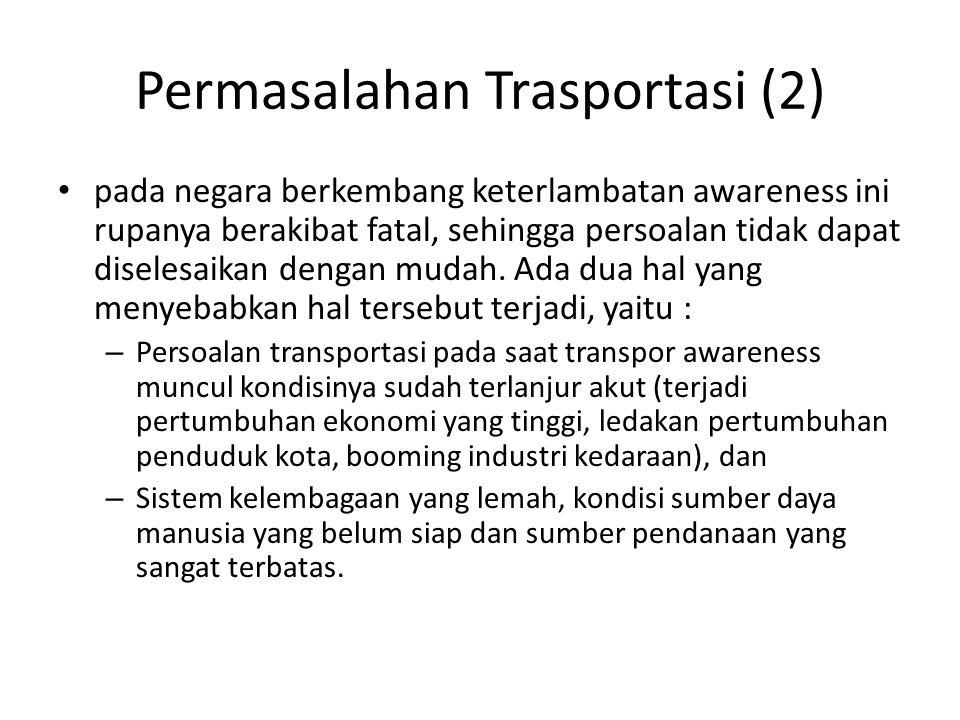 Permasalahan Trasportasi (2)