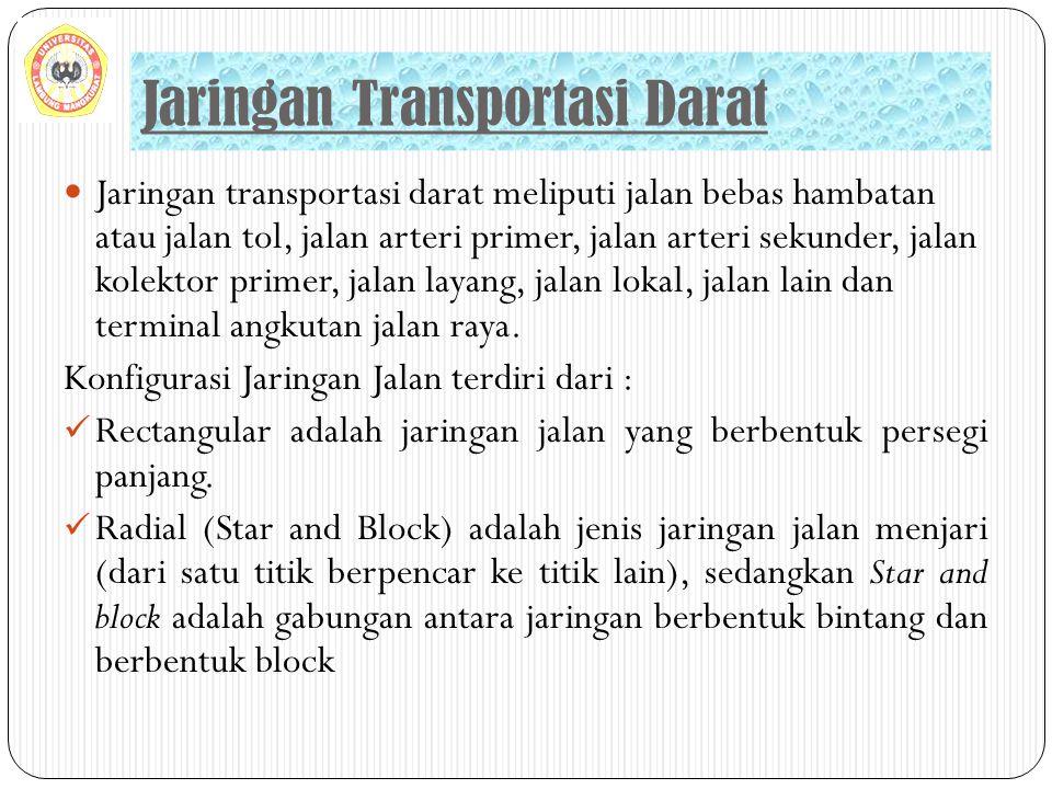 Jaringan Transportasi Darat