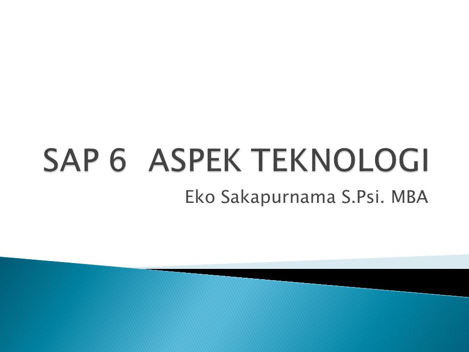 Eko Sakapurnama S.Psi. MBA