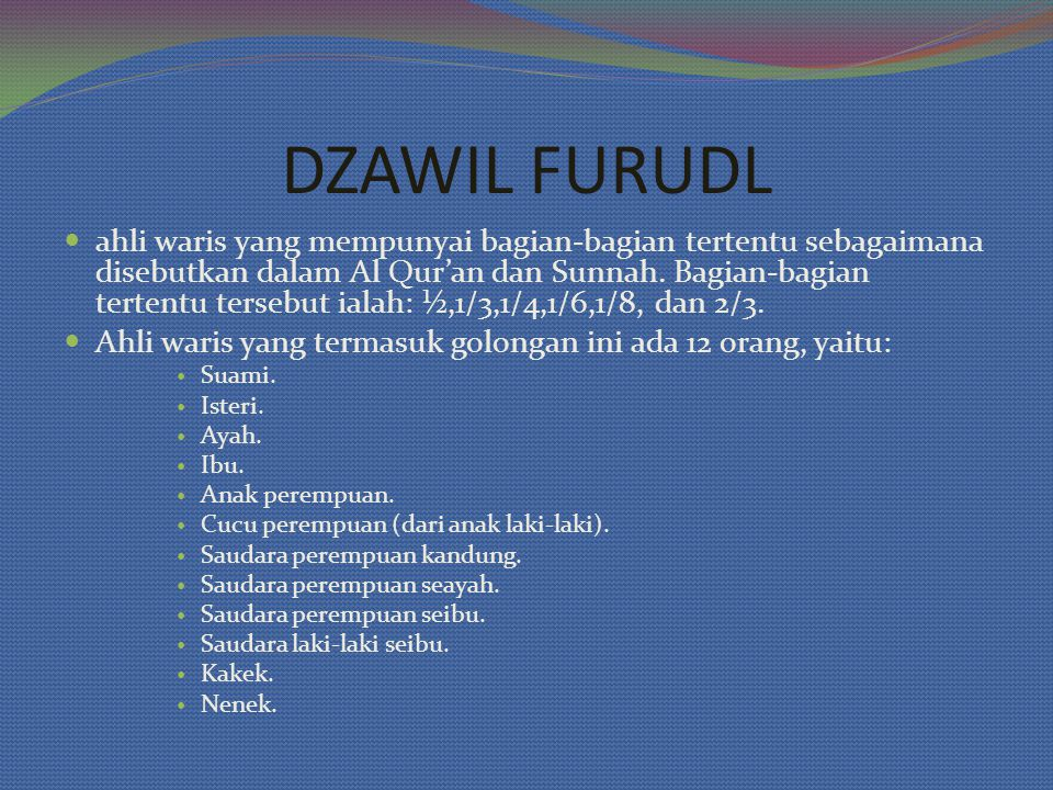 DZAWIL FURUDL