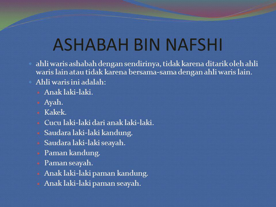 ASHABAH BIN NAFSHI