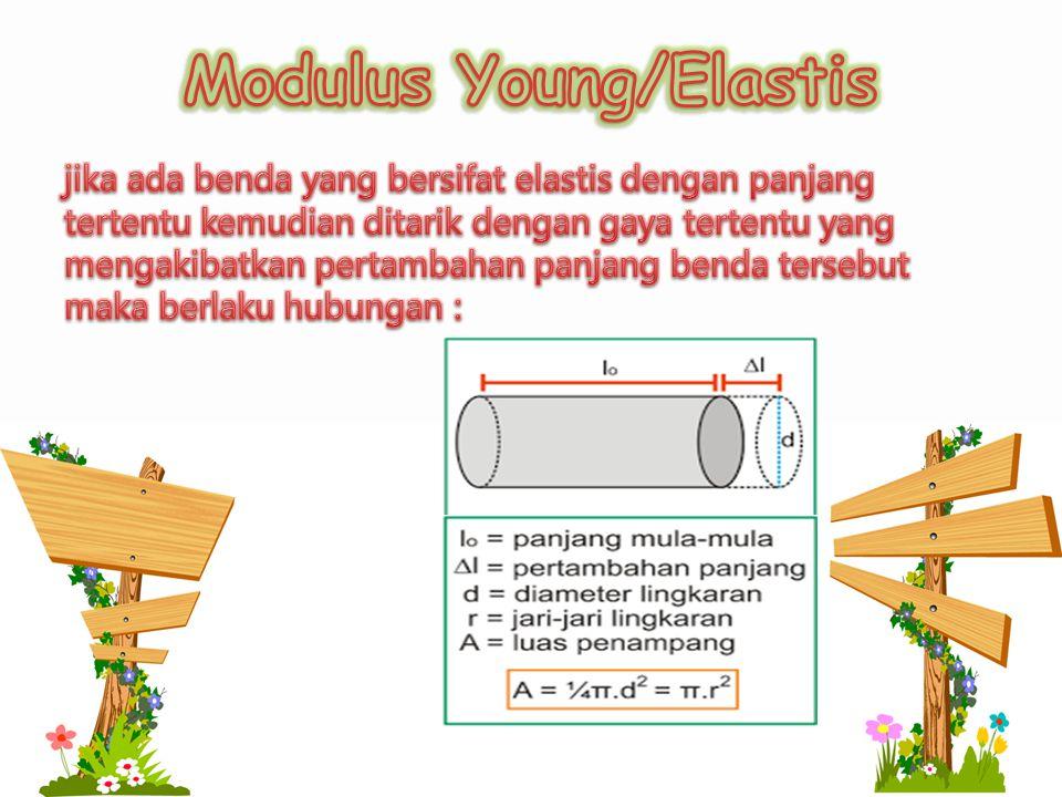 Modulus Young/Elastis