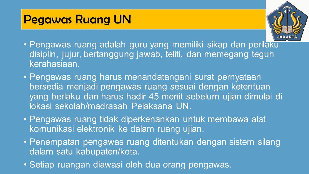 Pegawas Ruang UN