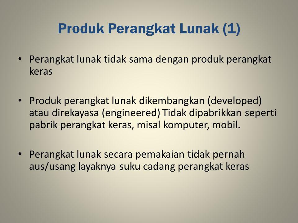 Produk Perangkat Lunak (1)