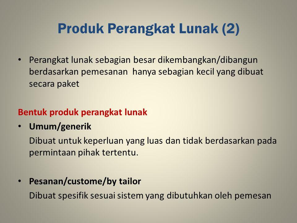 Produk Perangkat Lunak (2)