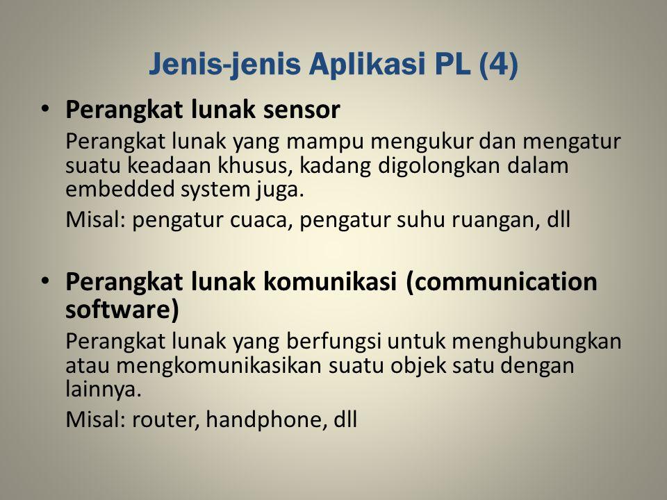 Jenis-jenis Aplikasi PL (4)