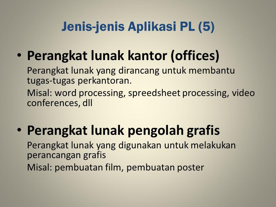 Jenis-jenis Aplikasi PL (5)