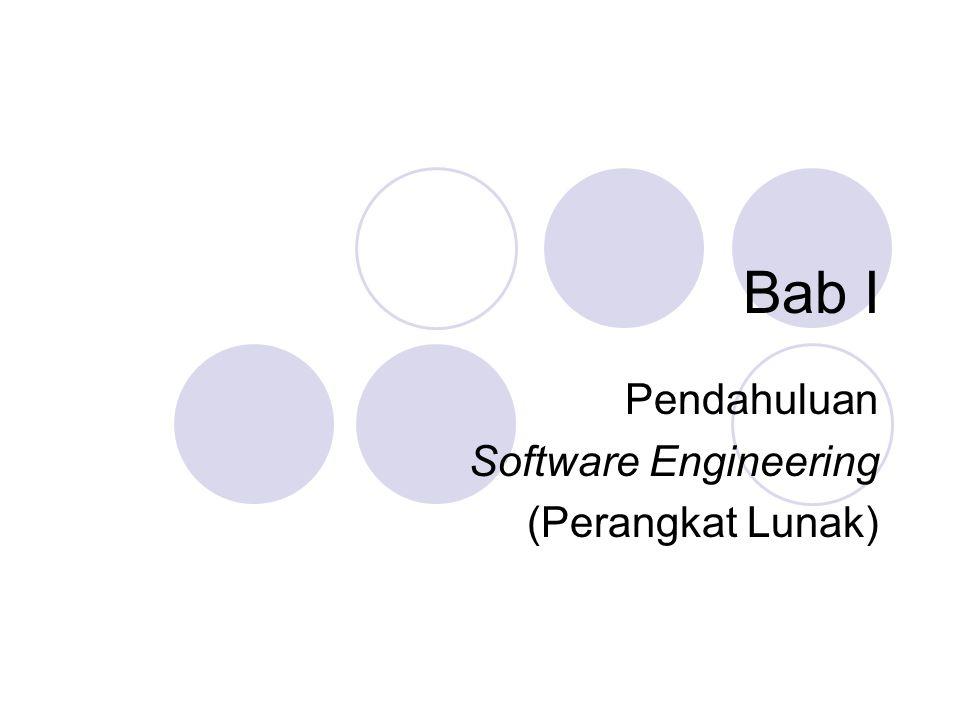 Pendahuluan Software Engineering (Perangkat Lunak)