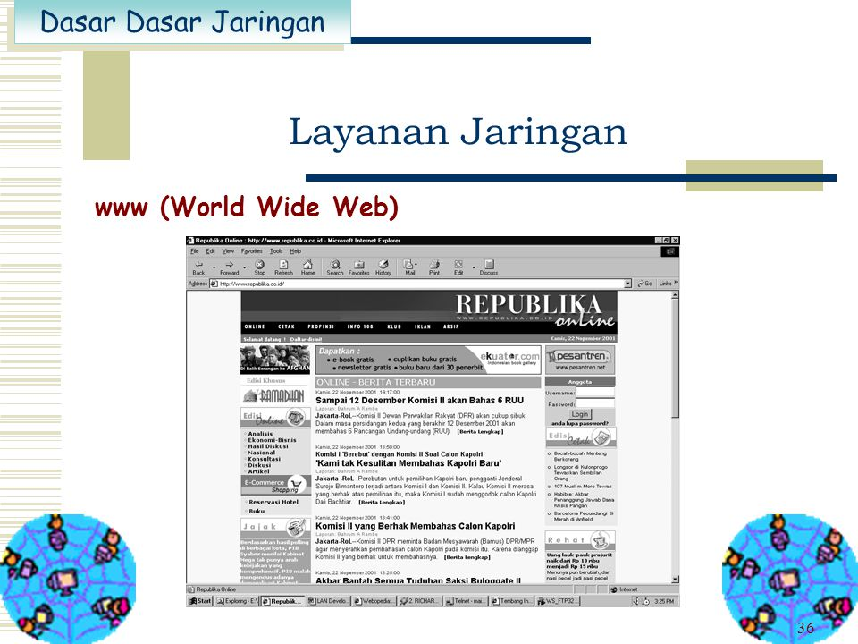 Layanan Jaringan www (World Wide Web)