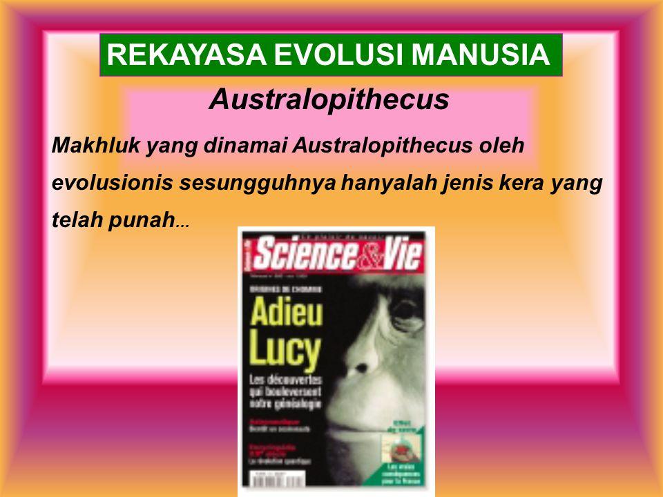 REKAYASA EVOLUSI MANUSIA