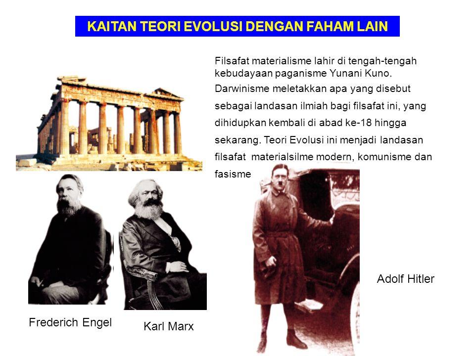 KAITAN TEORI EVOLUSI DENGAN FAHAM LAIN
