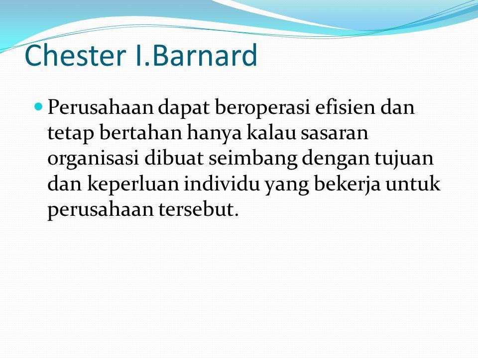 Chester I.Barnard