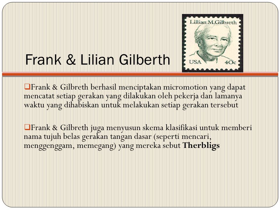 Frank & Lilian Gilberth