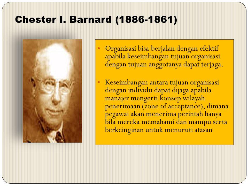 Chester I. Barnard (1886-1861)