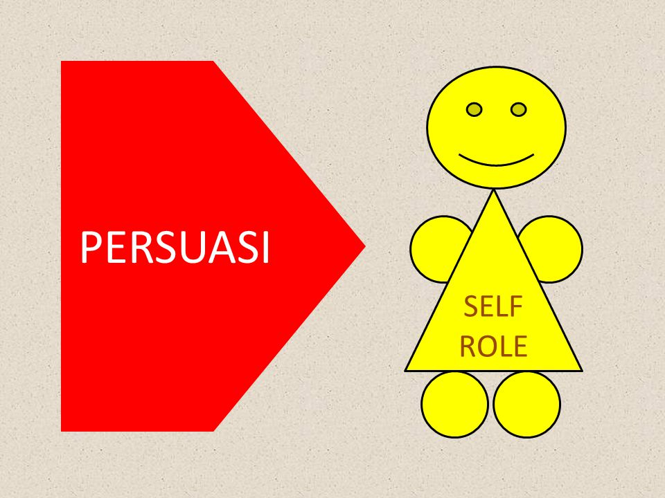 PERSUASI SELF ROLE