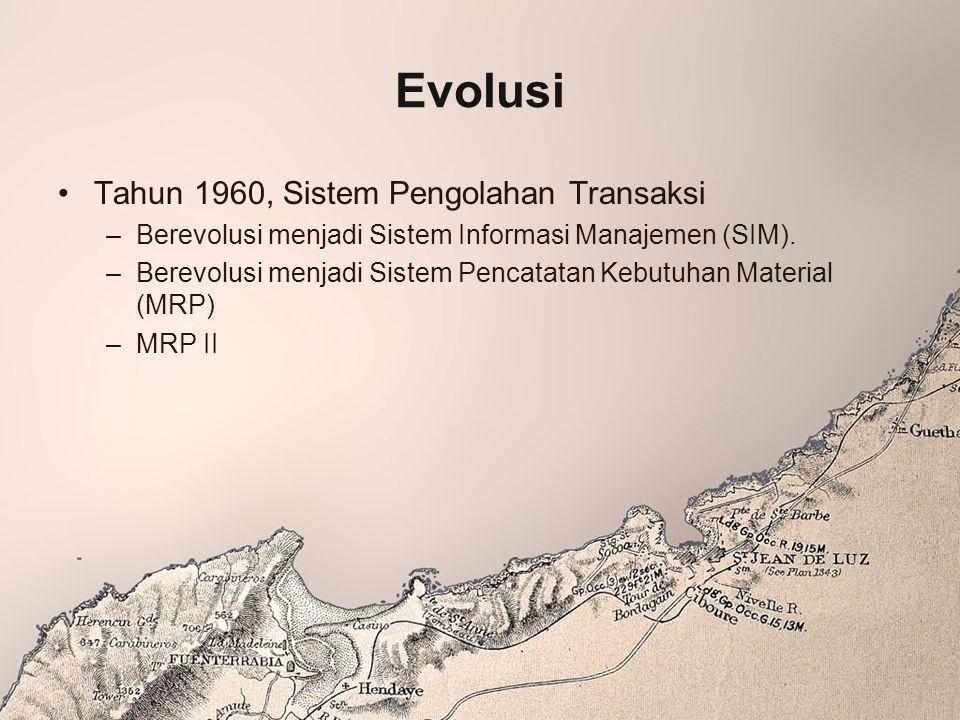 Evolusi Tahun 1960, Sistem Pengolahan Transaksi