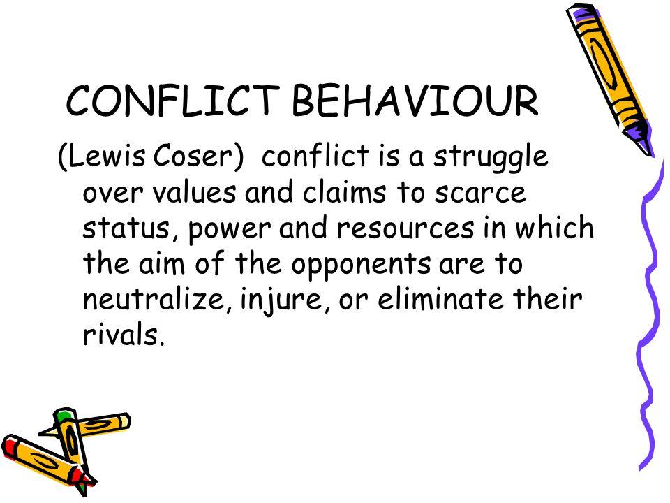 CONFLICT BEHAVIOUR