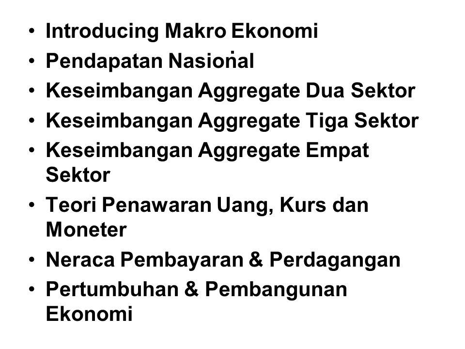 . Introducing Makro Ekonomi Pendapatan Nasional